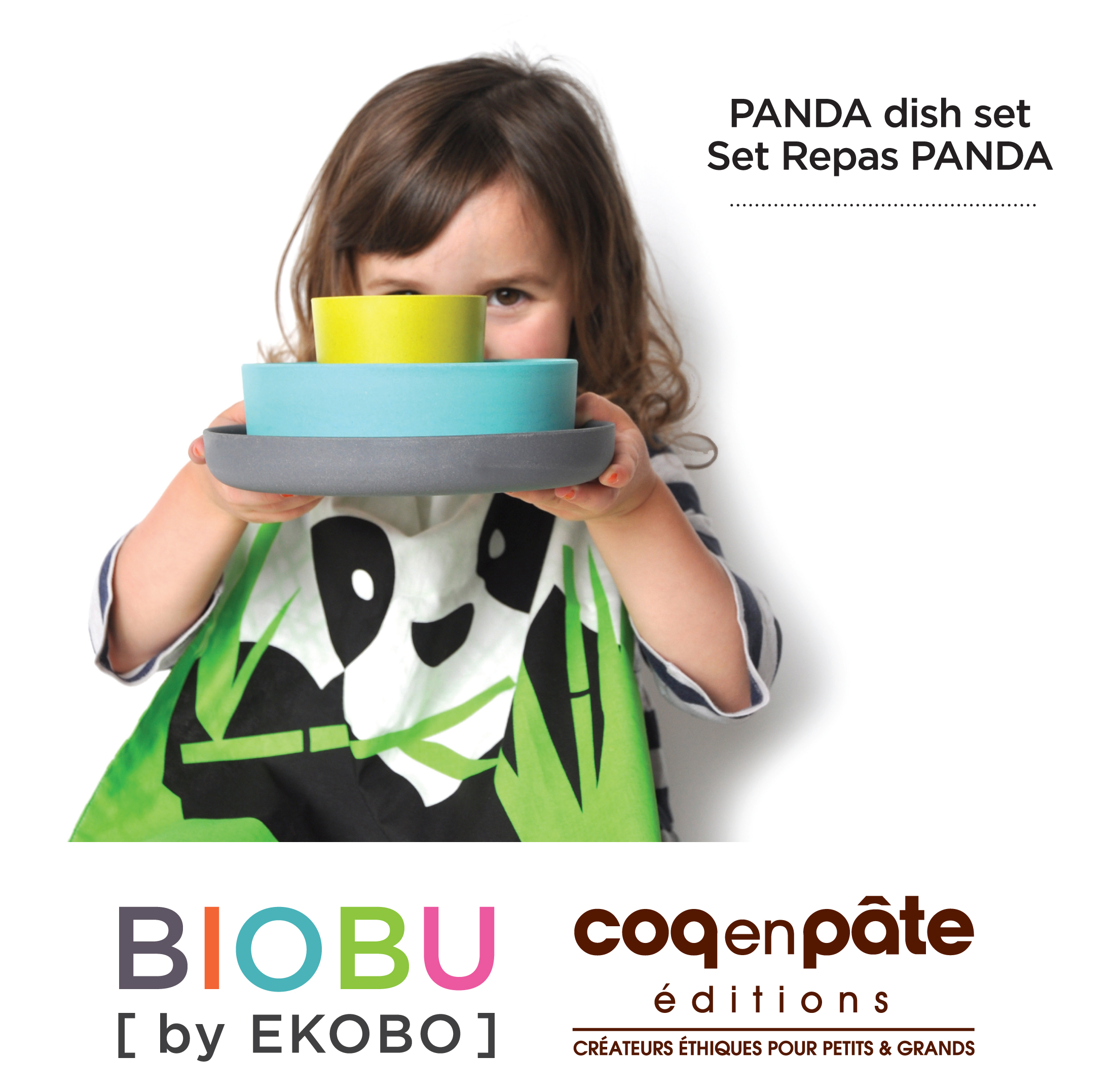 Bambino Kid, Set Panda Set Panda Smoke, Lagoon,, Taille unique