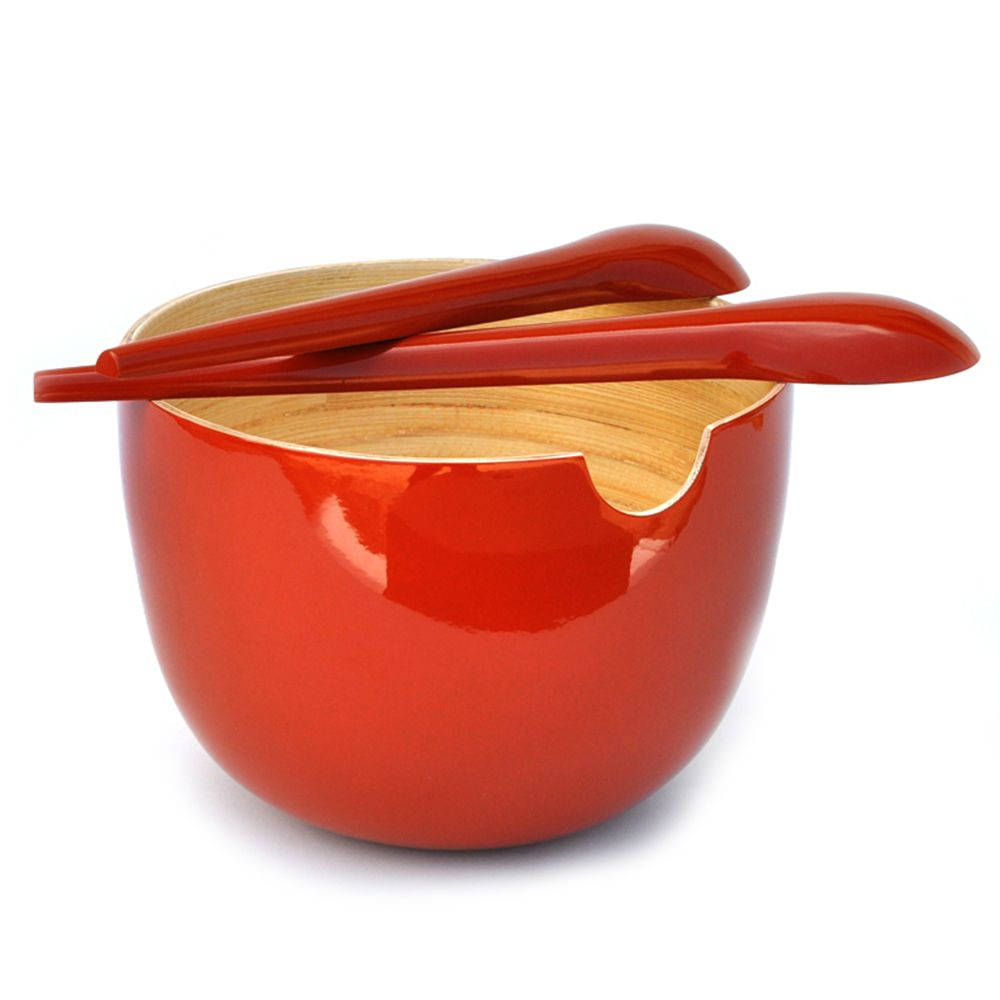 GLOBO Large - salad bowl , Tomate Tomate, Taille unique