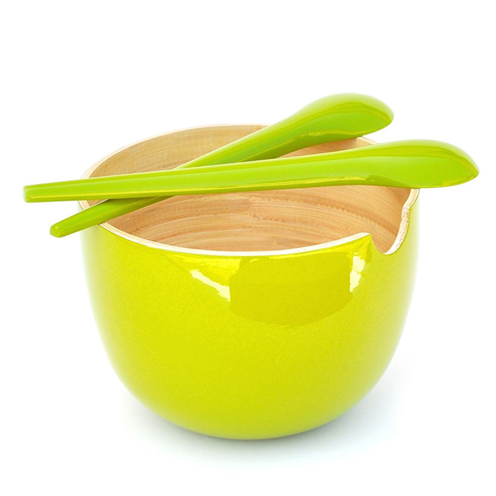 GLOBO Large - salad bowl , Lime Lime, Taille unique