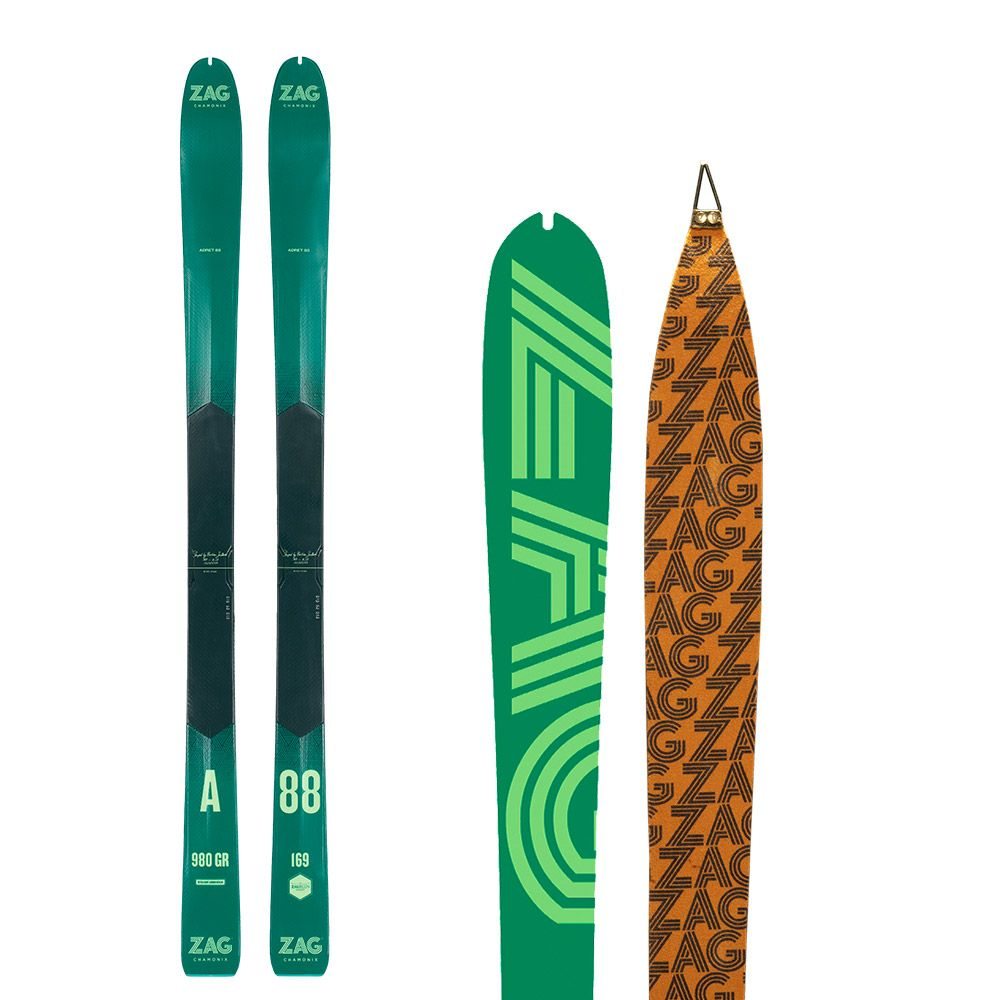 Pack Adret 88 Lady: Skis + peaux 169