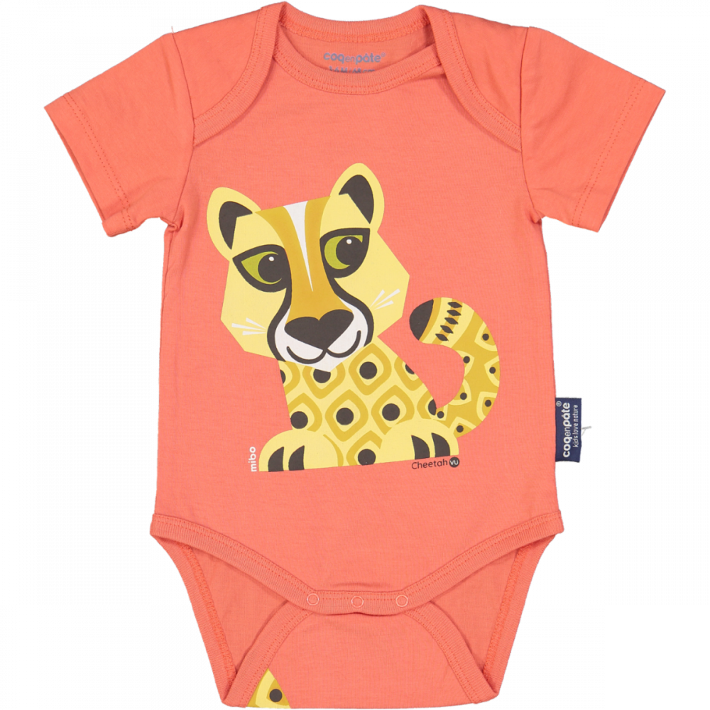 Body MC/ GUEPARD -Rose Rose, 12m