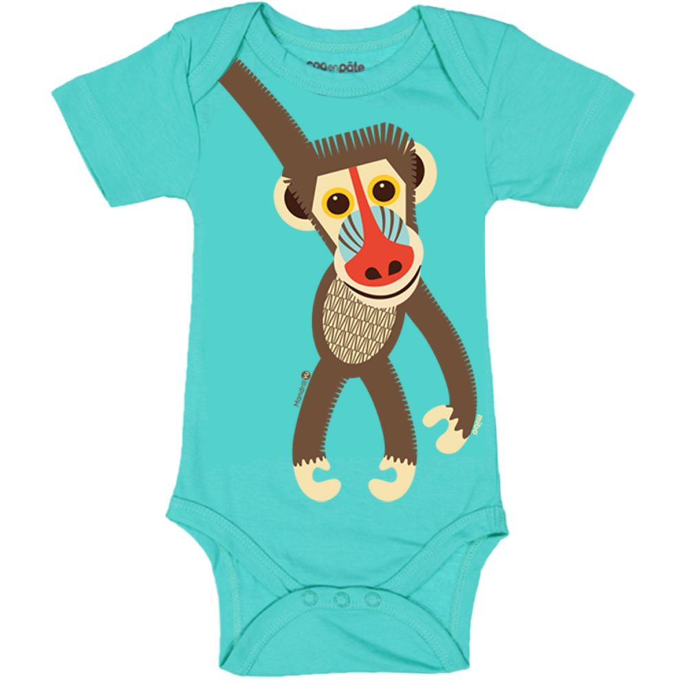 Body MC Mandrill BLUE, 12M