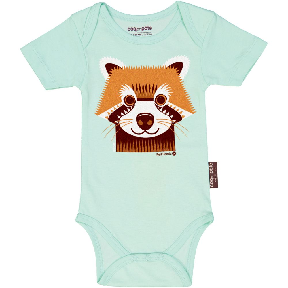 Body MC Panda Roux BLUE MINT, 6M