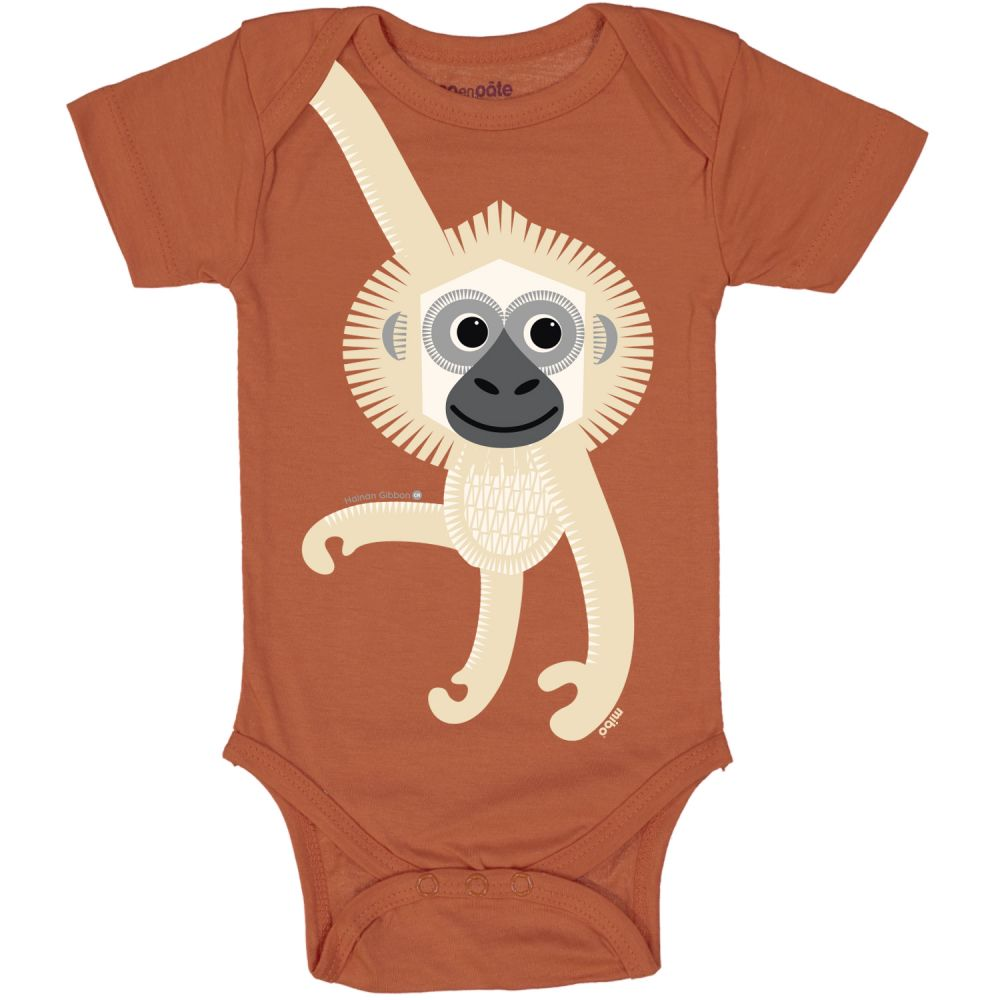 Body MC GIBBON BROWN, 12M