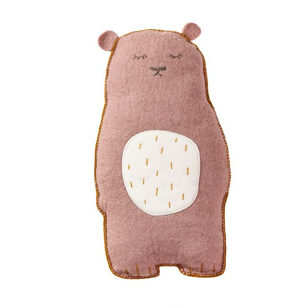 Coussin  Grizzly *  / rose q