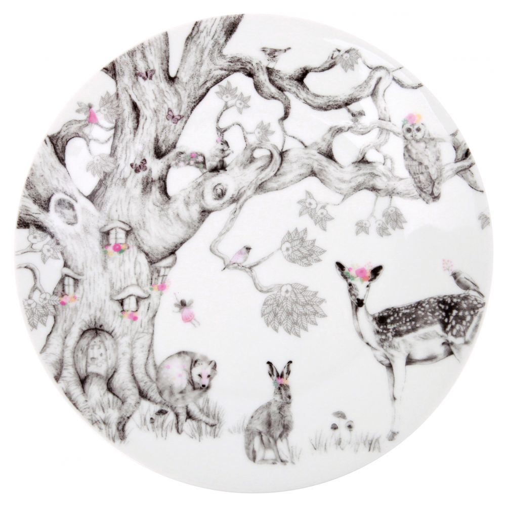 Enchanted Forest - Porcelain Plate