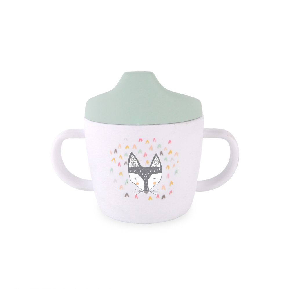 Sippy cup Fox White