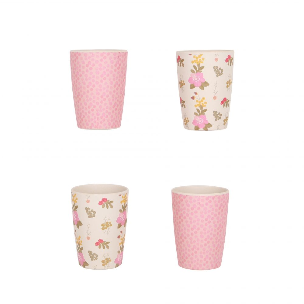 4KP Tumblers floral and Pink