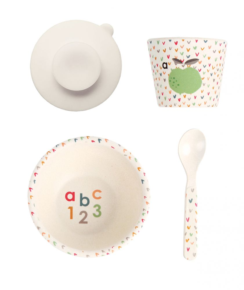 Baby feeding set ABC