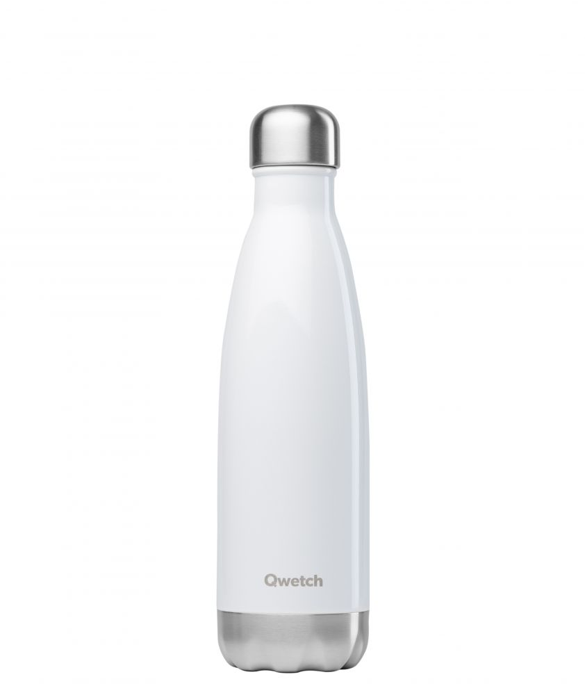 Bouteille blanc brillant 500ml blanc brillant, 500ml