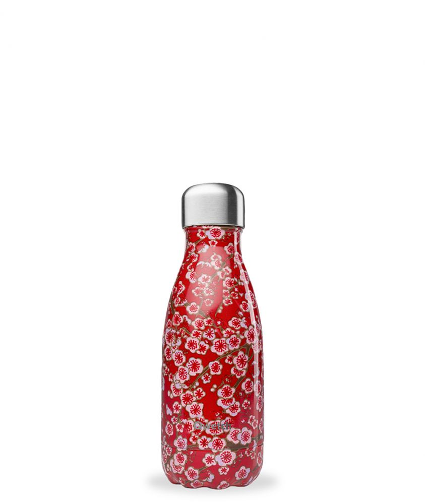 Bouteille Flowers Red 260ml flowers Rouge, 260ml