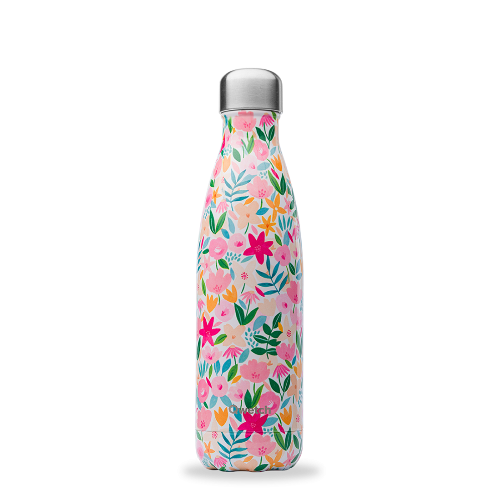 Bouteille inox iso flora rose 500ml Rose, 500ml