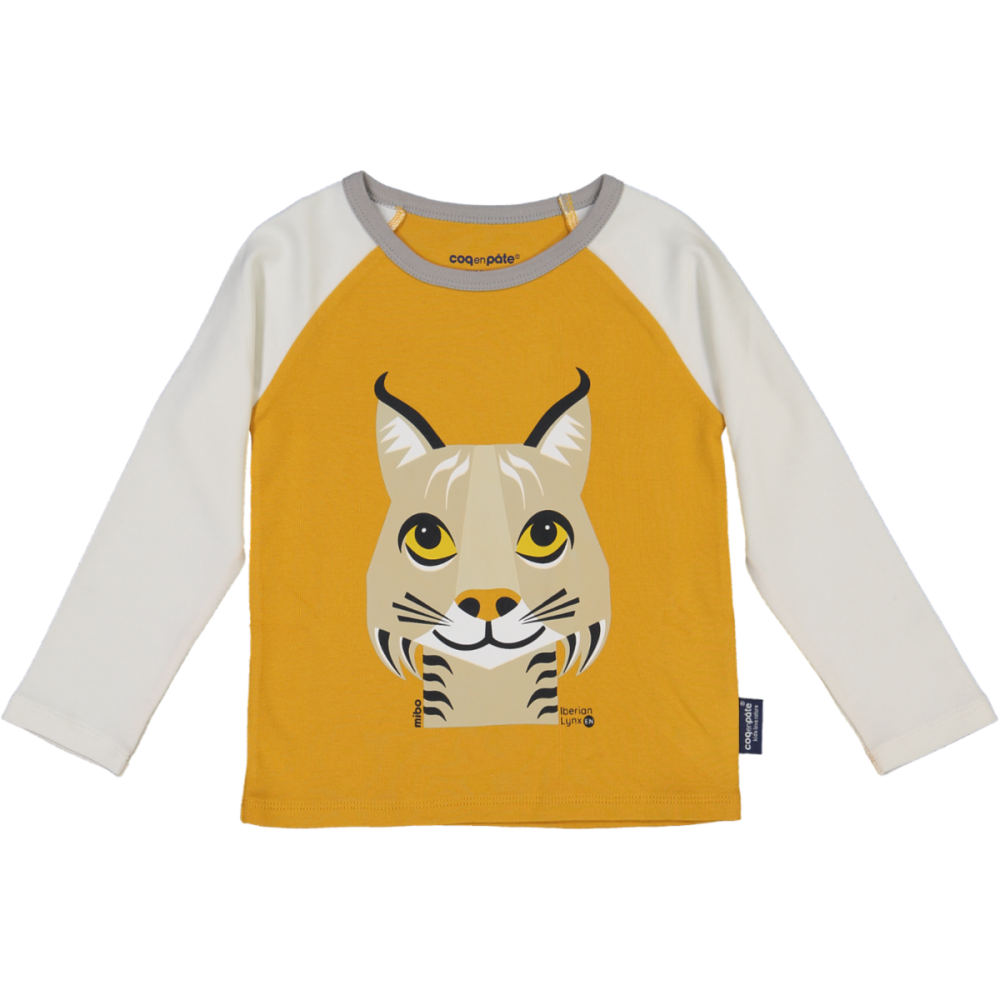 TSHIRT ML, Lynx Moutarde, 2A