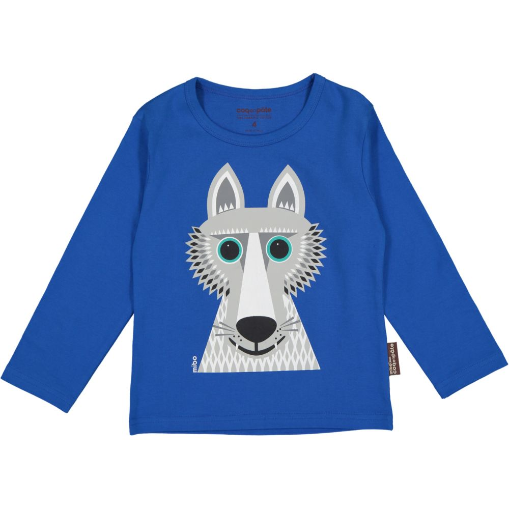 Longsleeves t-shirt Wolf MIBO LOUP/Wolf (bleu/blue, 6Y