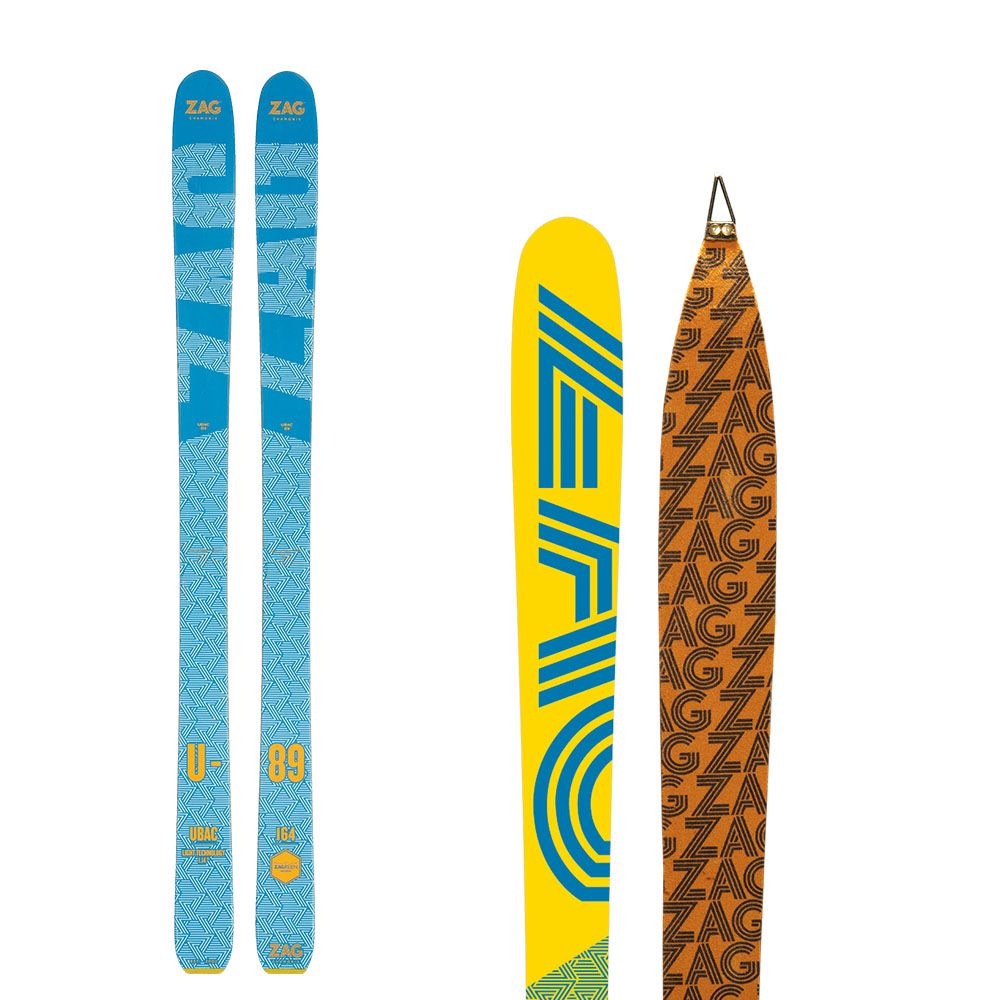 Pack UBAC 89 Lady: Skis + peaux 171
