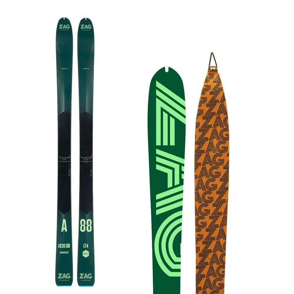 Pack Adret 88: Skis + peaux 169