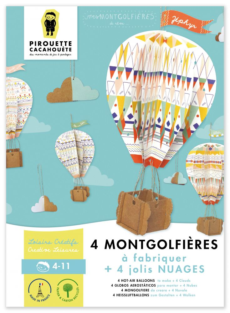 mes MONTGOLFIÈRES - my Hot-Air Balloon