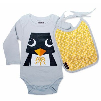 Body manches longues pinguin Pinguin, 6M