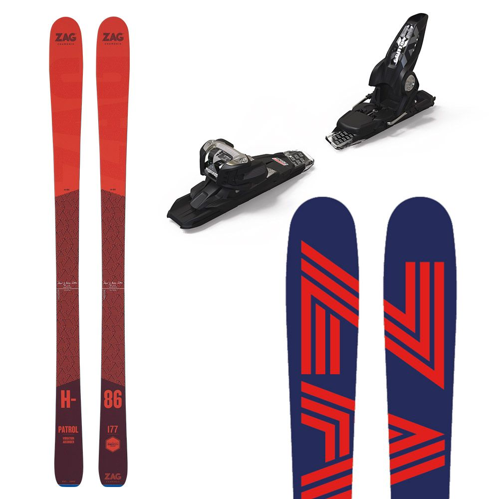 Pack H86: Skis + fixations H86 170