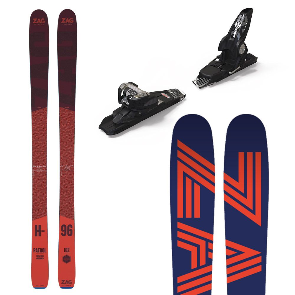 Pack H96: Skis + fixations 170