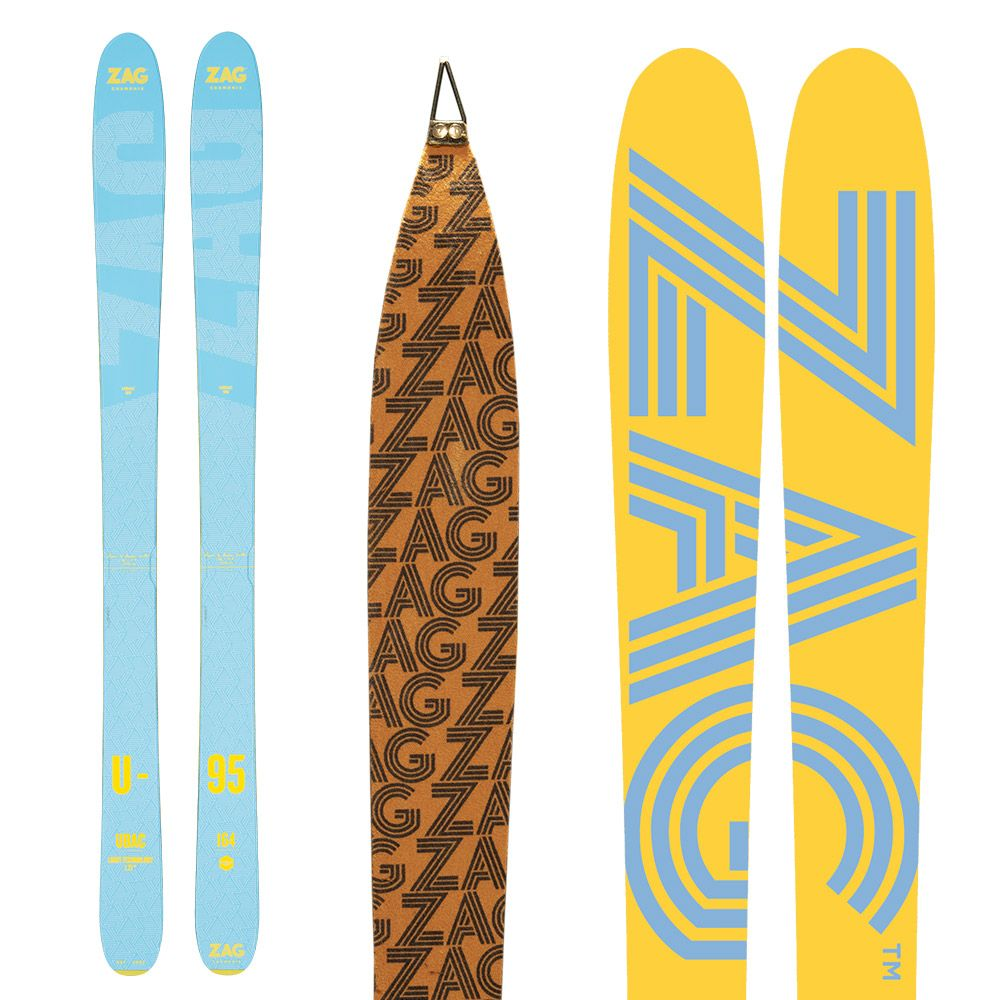 Pack UBAC 95 Lady: Skis + peaux 170