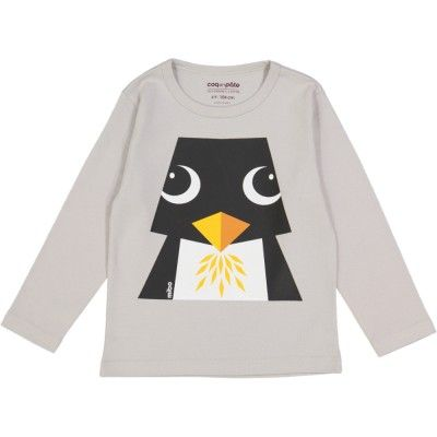 Long Arm T-shirt Mibo Pinguin MIBO PINGOUIN/Penguin (gr, 2Y