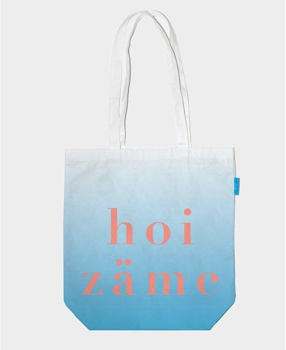 """Bag ""Hoi Zäme"""" 38x43cm ? 100% cotton ? 1"