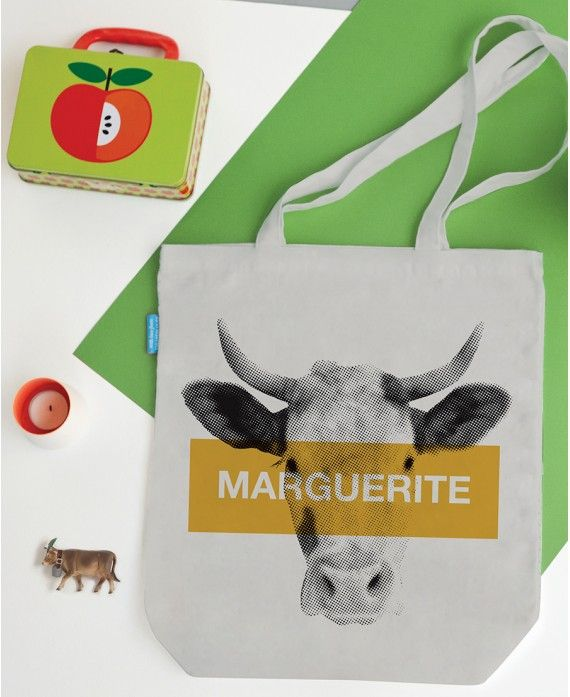 Bag Marguerite 38x43cm ? 100% cotton ? 1