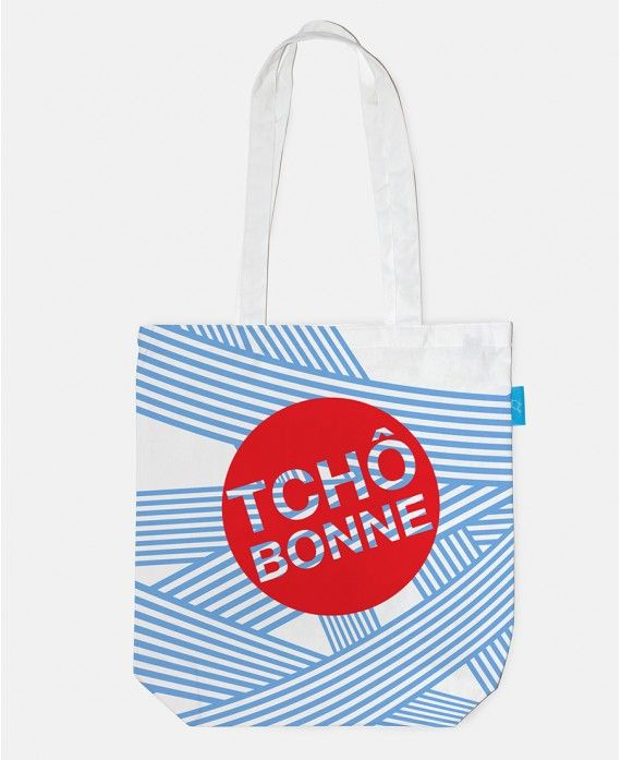 """Bag ""Tchô Bonne"""" 38x43cm ? 100% cotton ? 1"