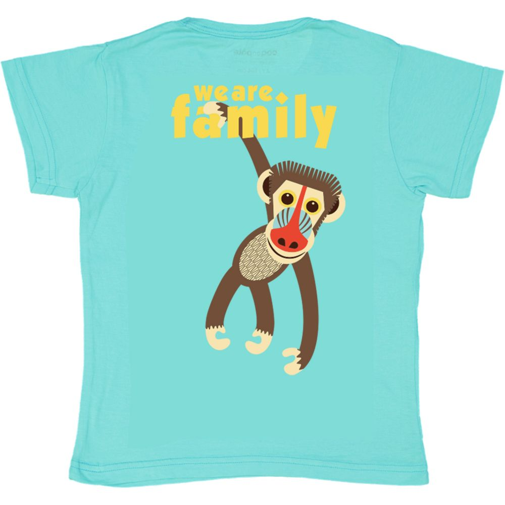 Tshirt MC mandrill BLUE, 8Y