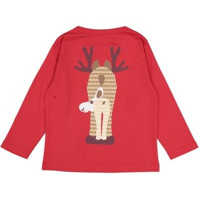 T-shirt manches longues c MIBO CARIBOU, 2Y